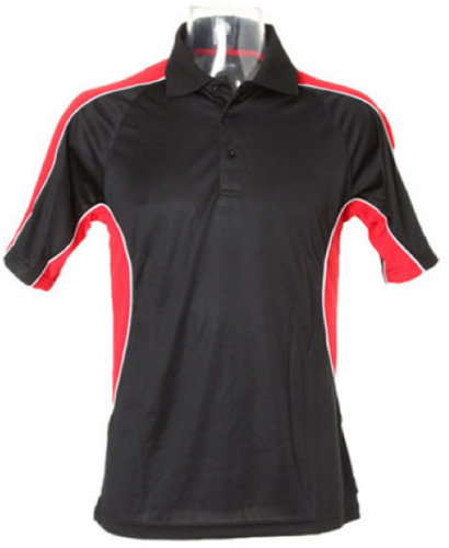Red & Black Cooltex Gamegear Polo shirt - Large